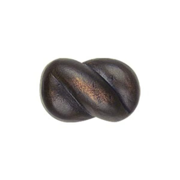 Braid Cabinet Knob Bronze