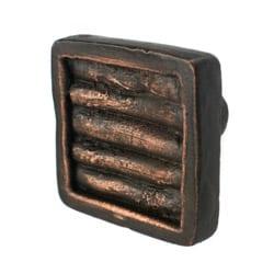 Cabinet Knob Cactus Ribs Bronze