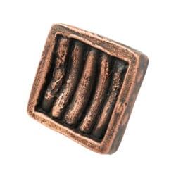 Cabinet Knob Cactus Ribs Copper