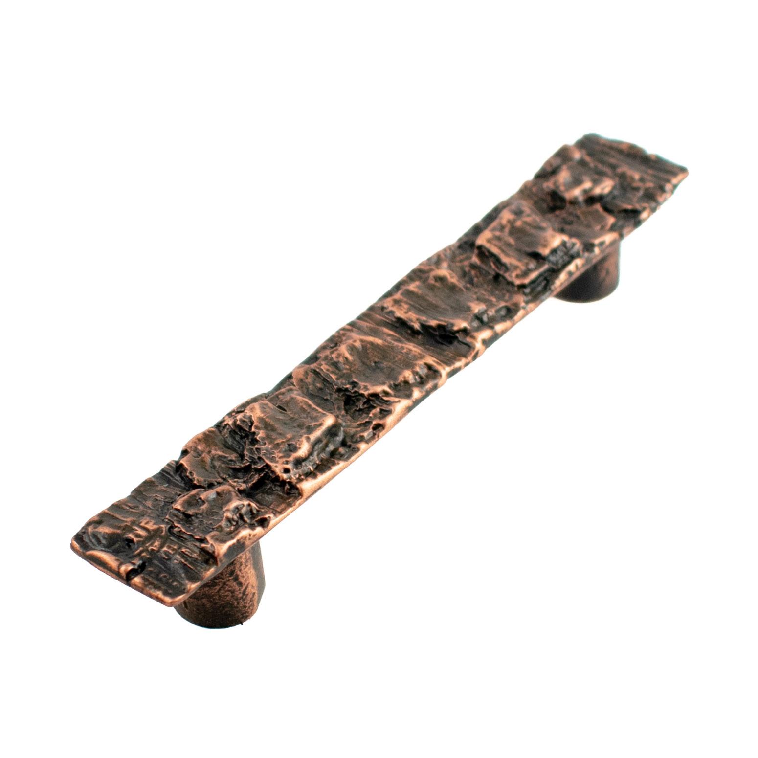 Copper Bark Cabinet Pull